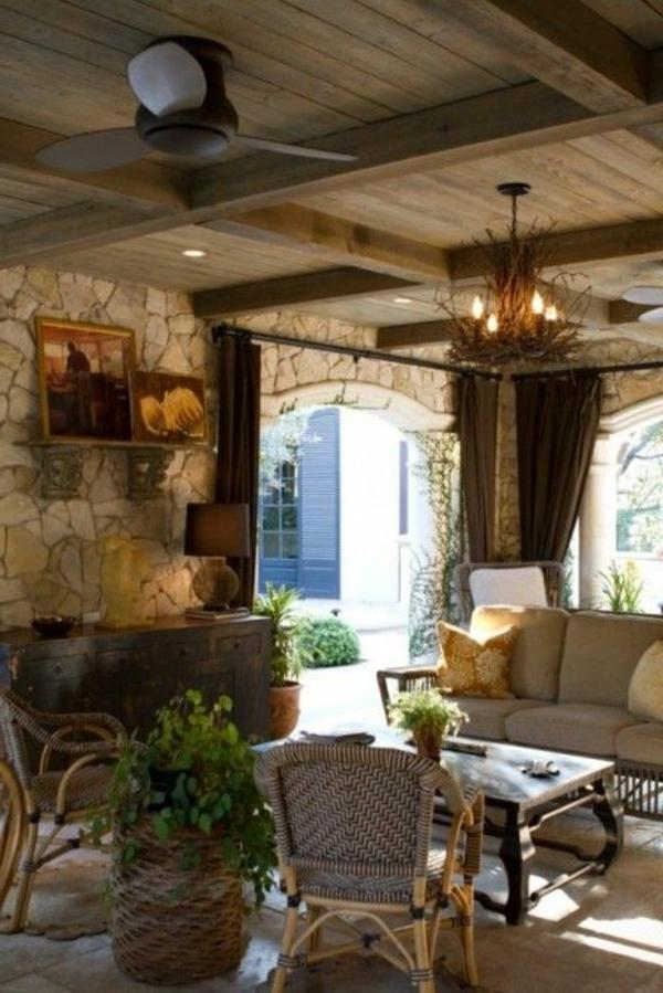 Gestaltungsmöglichkeiten Für Wohnzimmer Landhausstil