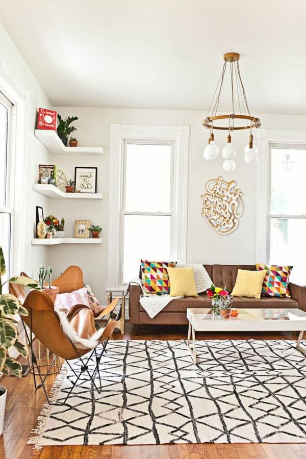gestaltungsmöglichkeiten-für-wohnzimmer-schöner-kronleuchter- super schöne ausstattung