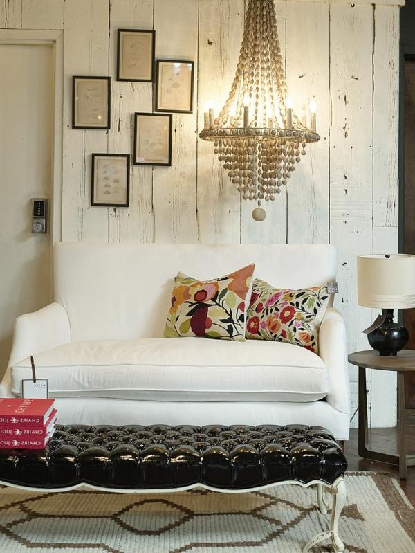 gestaltungsmöglichkeiten-für-wohnzimmer-sofa-in-weiß - einmalig wirken