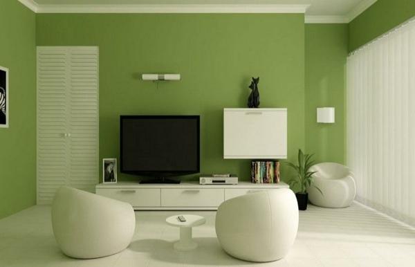 Wandfarbe wohnzimmer beispiele