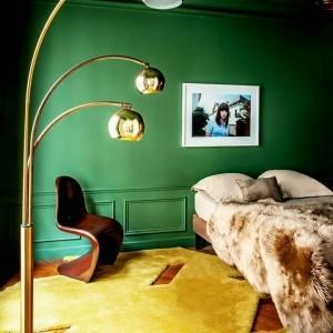 55 Ideen für grüne Wandgestaltung im Schlafzimmer!