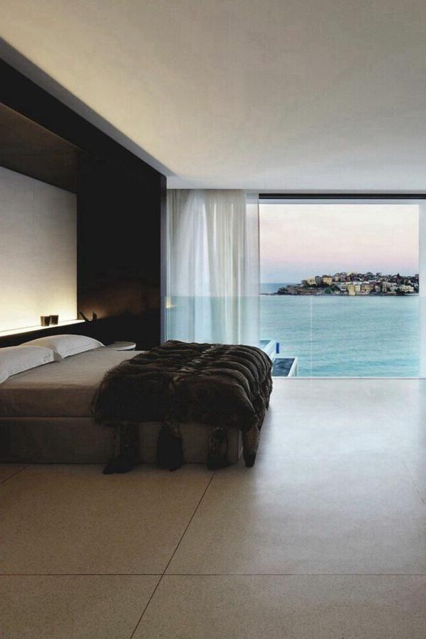 Moderne innenarchitektur schlafzimmer  Schlafzimmer modern gestalten: 48 Bilder! - Archzine.net