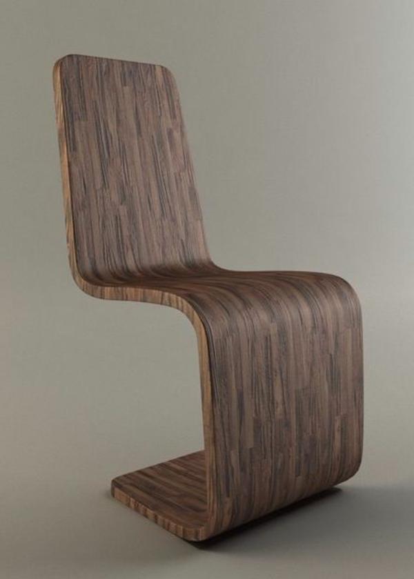 hölzerner-designer-Stuhl-mit-ultra-modernem-Design