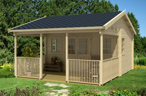 gartenhaus holz mit veranda my blog. Black Bedroom Furniture Sets. Home Design Ideas