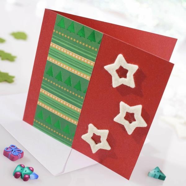 handgemachte-fantastische--Ideen-für-Gestaltung-von- Weihnachtskarten