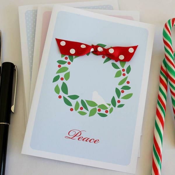 handgemachte-wunderschöne-Weihnachtskarten-zum-Selbermachen