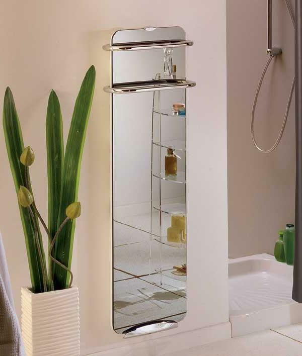 heizender-Handtuchhalter-im-Badezimmer-Spiegel