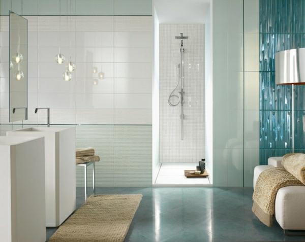 hochglanz-aktuelle-Beispiele-für-ein-modernes-Badezimmer