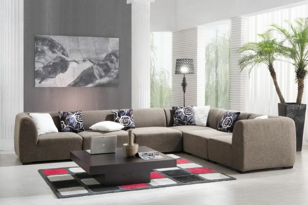 wohnzimmer olivgrün:inspirierendes-Design-für-das-Wohnzimmer-Wohnzimmer-Einrichtung