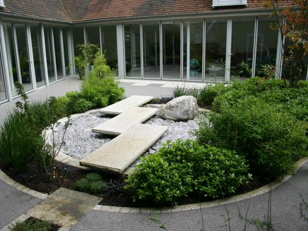 Emejing Stein Garten Design Contemporary - Ideas & Design