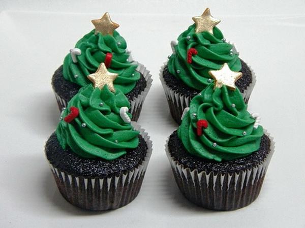 Xmas Cupcake Decorations