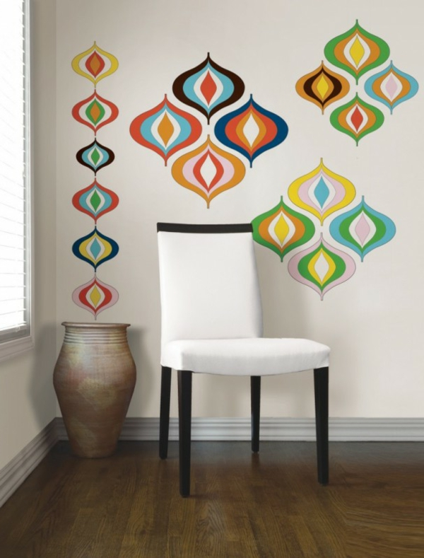 kreative-Wandgestaltung-modernes-Interior-Design-