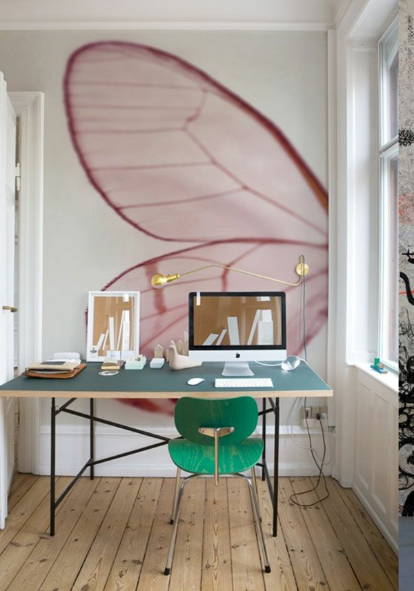 kreative-Wandgestaltung-modernes-Interior-Design