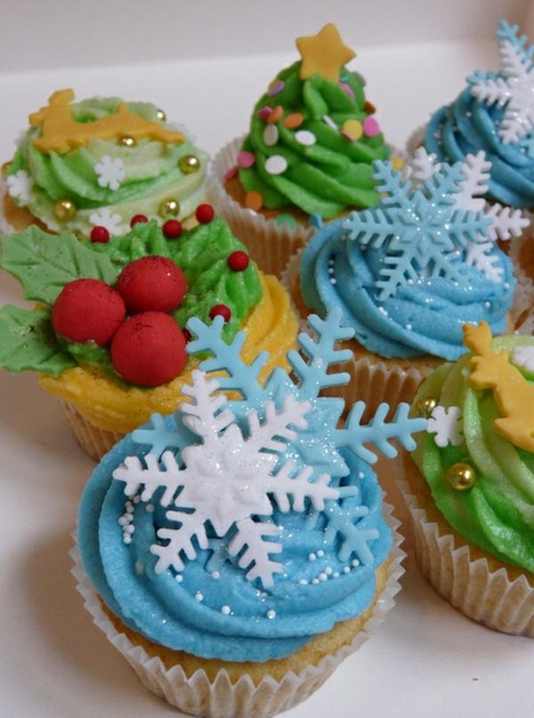 kreative-und-schmackhafte-Cupcakes-für-Weihnachten-backen