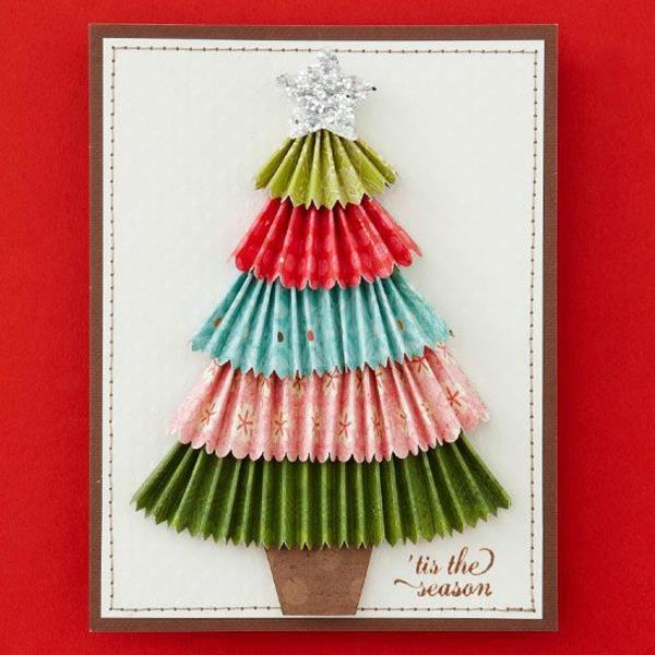 kreative-wunderschöne-Weihnachtskarten-zum-Selbermachen-