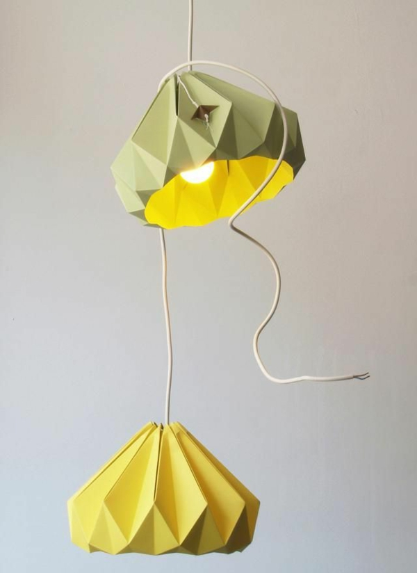 lampen-für-kinderzimmer-gelbe-farbe