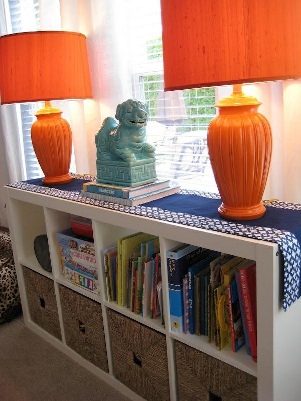 lampen-für-kinderzimmer-orange-farbe