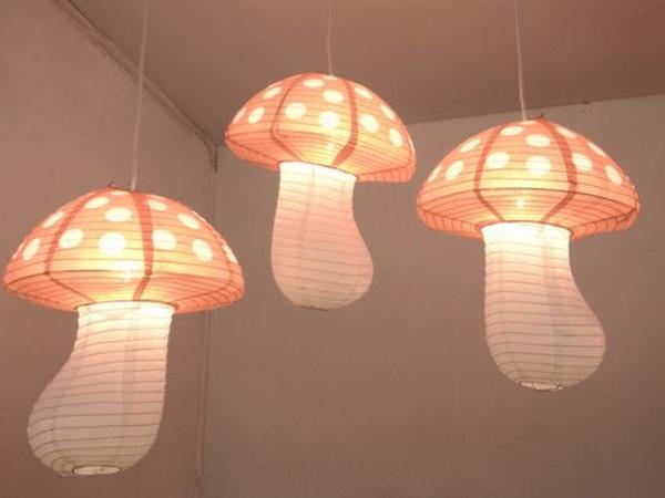 lampen-für-kinderzimmer-pilzen-ähneln