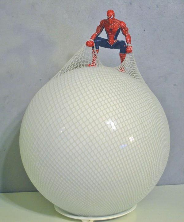 lampen-für-kinderzimmer-spiderman