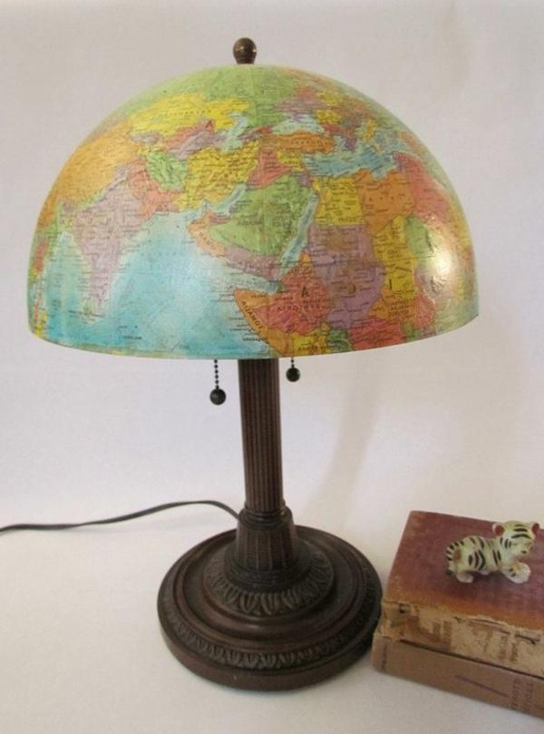 lampen-für-kinderzimmer-wie-einen-globus-aussehen