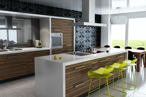limegrüne-super-moderne-designer-Esszimmerstühle-ganz.-moderne-Farbe