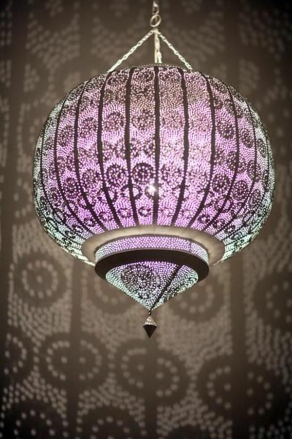 marokkanische lampen 40 super modelle. Black Bedroom Furniture Sets. Home Design Ideas