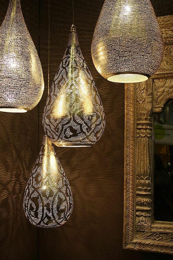 Marokkanische lampen 40 super modelle - Marokkanische wohnzimmer ...