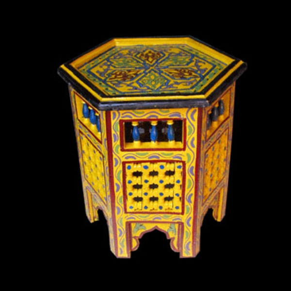 marokkanische-möbel-gelber-nesttisch