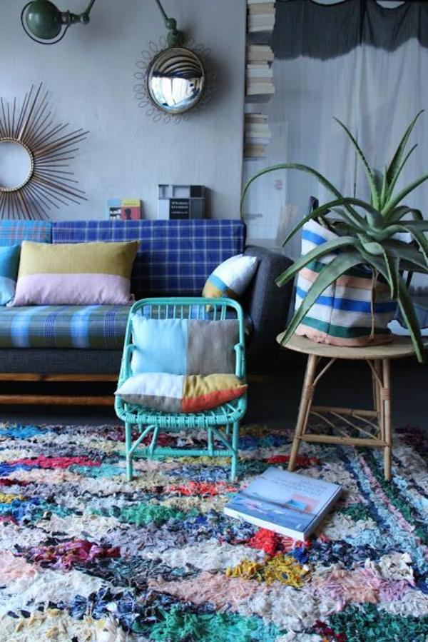 marokkanische-teppiche-blaue-gestaltung