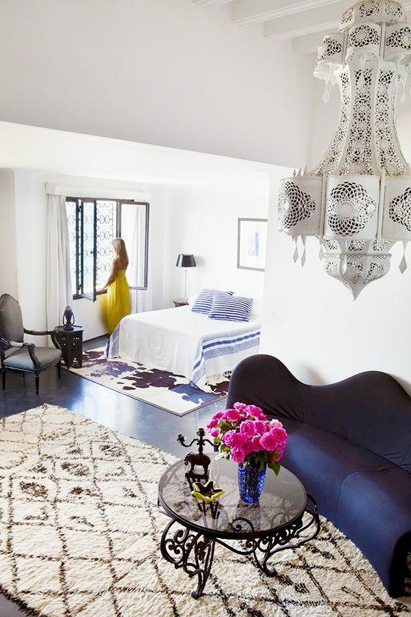 Marokkanische Wohnzimmer - Wohndesign Ideen