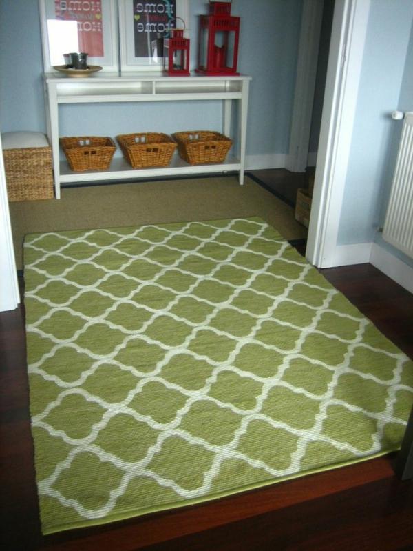 marokkanische-teppiche-grüne-farbe