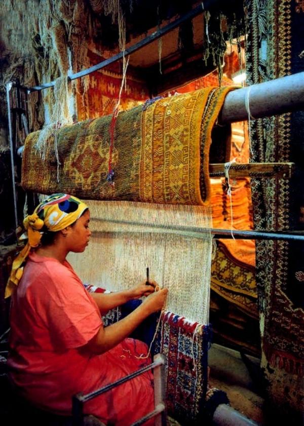 marokkanische-teppiche-produktion