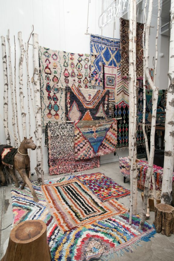 70 interessante marokkanische teppiche. Black Bedroom Furniture Sets. Home Design Ideas