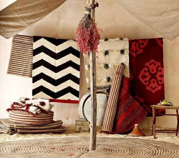 70 interessante marokkanische teppiche for Marokkanische dekoration