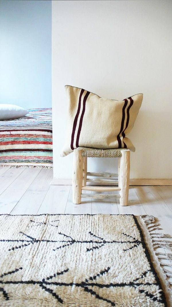 marokkanische-teppiche-weiße-gestaltung