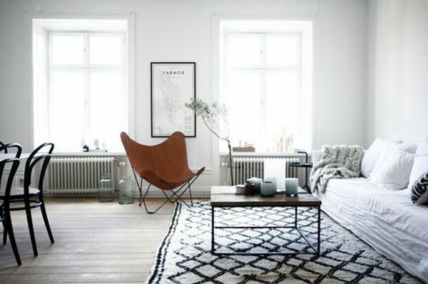 design : wohnzimmer teppich schwarz weiß ~ inspirierende bilder ...