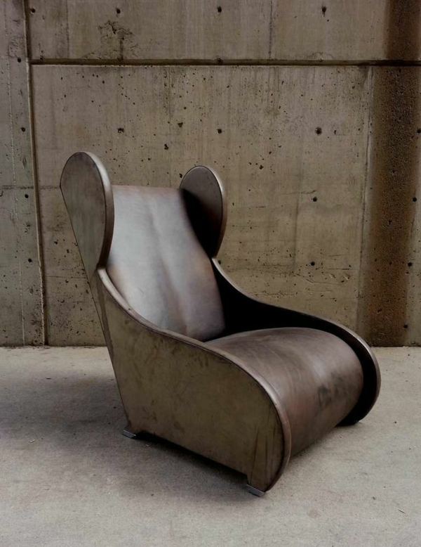 moderne-Ausstattung-mit-einemdesigner-Sessel