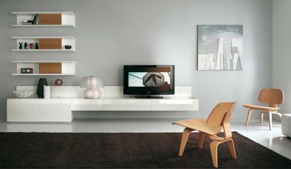 -moderne-Farben-für-das-Wohnzimmer-Teppich-in-Braun