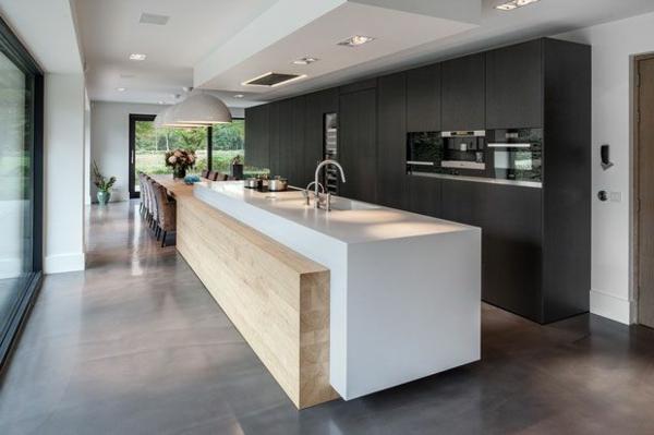 moderne-Küchenplanung- Interior-Design-Ideen-Kücheninsel