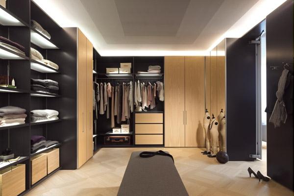 moderne-Luxus-Kleiderschränke-begehbar