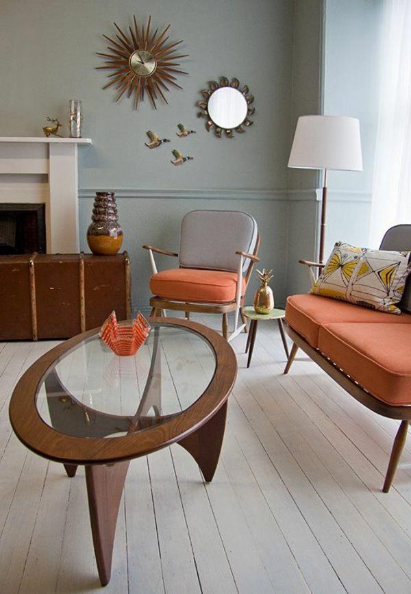 wandfarben ideen frs wohnzimmer. wandfarben muster ideen gemtlich ... - Moderne Wandfarben