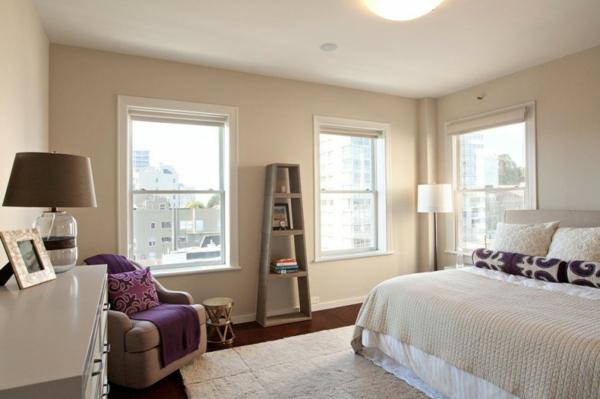 moderne-Wandfarben-für-eine-schicke-und-gemütliche-Wohnung-Penthouse Wandfarbe - Eierschalenfarben