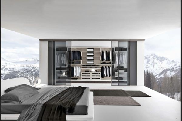 Moderne Begehbare Kleiderschränke Im Schlafzimmer Luxus Begehbarer  Kleiderschrank U2013 120 Modelle!