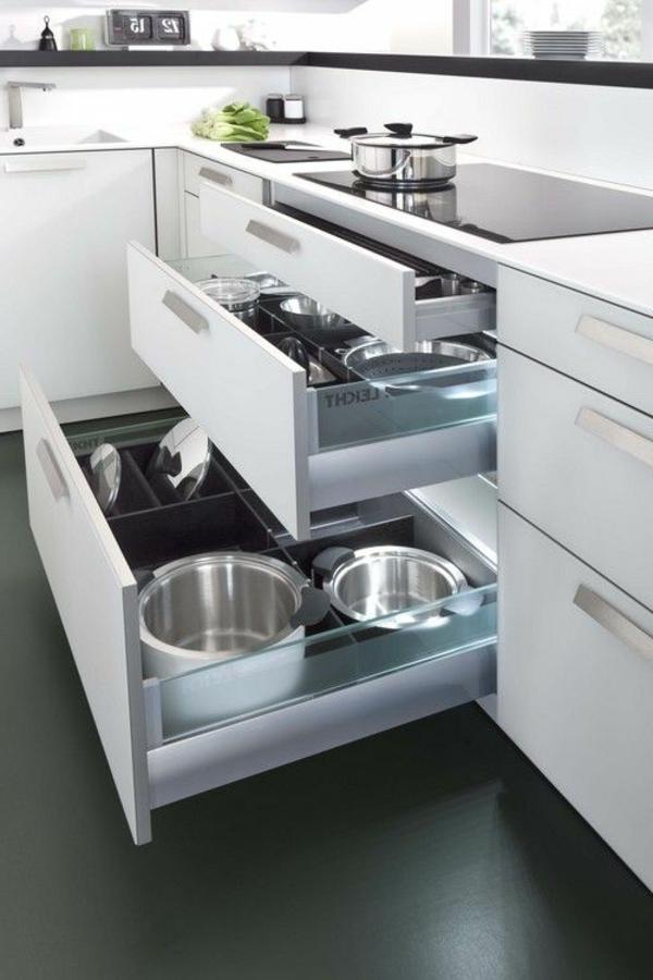 moderne-küchenmöbel-moderne-weiße-schubladen
