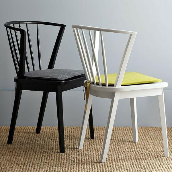 moderne-und-stilvolle-Holzstühle-mit-Sitzkissen-für-das-Esszimmer
