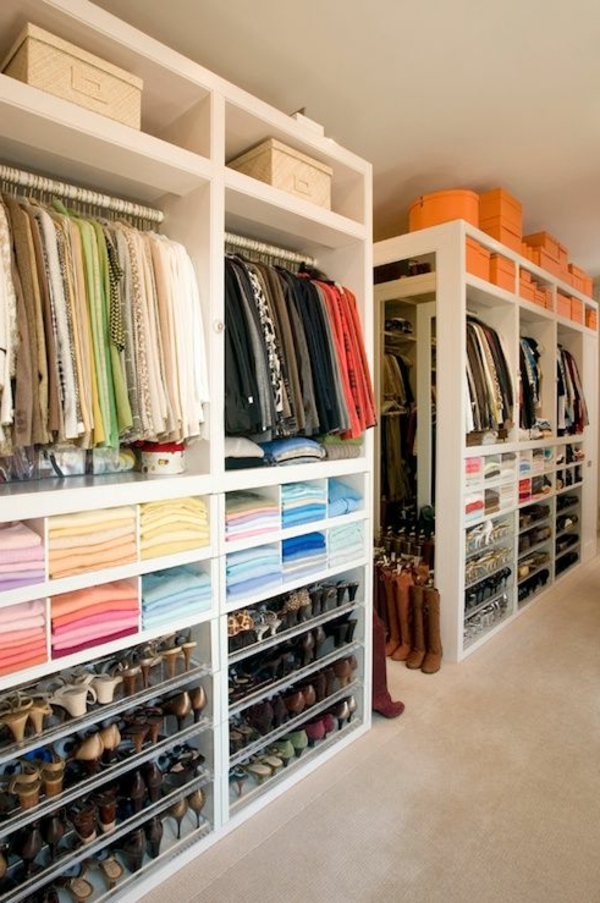 luxus begehbarer kleiderschrank 120 modelle. Black Bedroom Furniture Sets. Home Design Ideas