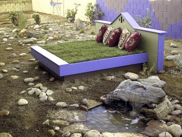 100 unglaubliche bilder moderner steingarten. Black Bedroom Furniture Sets. Home Design Ideas
