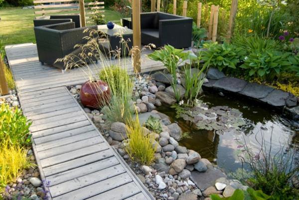 garten moderner teich ~ speyeder = verschiedene ideen für die, Garten und bauen
