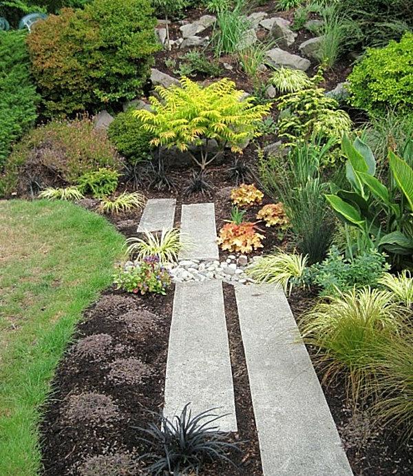 moderner-steingarten-für-ein-schönes-haus