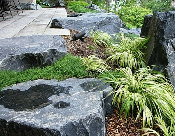 100 unglaubliche bilder moderner steingarten for Gartengestaltung asiatisch